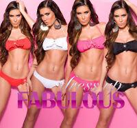 SEXY 6 8 10 12 PADDED SWIMWEAR BEACHWEAR BIKINIS SWIMMERS TOP FOR GIRLS XS S M L