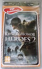 Medal of honor heroes 2 SONY PSP essentials shooter game brand new & sealed uk!