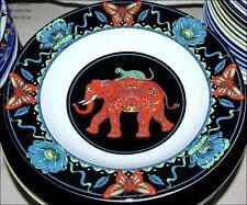 Pastateller JUMBO schwarz BOPLA Porzellan Teller 28cm Ø Schale für Beilagen