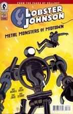 Lobster Johnson Metal Monsters of Midtown #3   NEW!!!