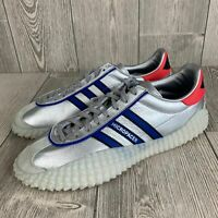 New Adidas Men's Country X Kamanda Micropacer Silver Size 12