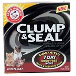 Church & Dwight 571764 Arm & Hammer Clump & Seal Multi-Cat Litter
