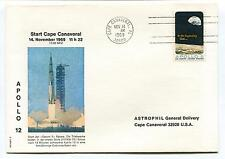 1969 Start Cape Canaveral Apollo 12 Saturn 5 Astrophil Florida Space Cover