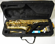 NEW PRELUDE TS710 TENOR SAXOPHONE, INCLUDES CASE - DISTRIBUTED BY CONN-SELMER