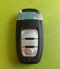 AUDI A5 A4 Q5 3 Buttons Remote Dash Key FoB cut and coded to your car