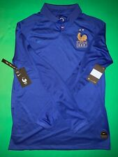 France Nike Fff 100th Anniversary Centenary Soccer Jersey Long Sleeve Authentic