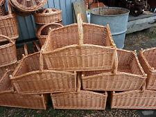 GRANDE cesto di vimini-log-handmade
