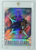2019-20 Panini Donruss Optic Fantasy Stars Holo Prizm LEBRON JAMES #14, Insert