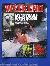Weekend Magazine - Sloane Rangers, Verita Thompson, Joan Collins  8th Dec 1982