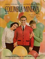 Columbia Minerva 736 Jubilee Collection Knitting Patterns Sweaters Jacket 1960s