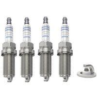Spark Plugs x 4 Bosch Fits Peugeot 206 207 307 1007 407 406 807 Renault Laguna