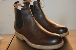 NU FRYE Mens Rainer Chelsea Italian full grain Leather 9 M US Boots slate $358