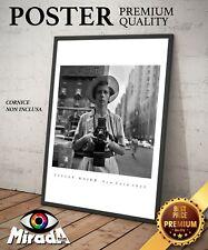 FOTO AUTORE Vivian Maier Autoritratto Portrait  New York 1955 street photography