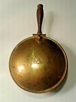 vintage copper/silver plated crumb catcher silent butler