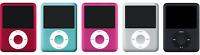 Apple iPod Nano 3rd Gen 4Gb/8GB  Silver, Black, Blue, Pink, Red