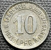 1919 Germany Notgeld 10 Pfennig Token