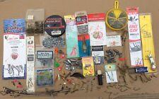 Lot of Fishing Tackle New & Used: Hooks/Sinkers/Split Shots/Swivels/Jigs & More