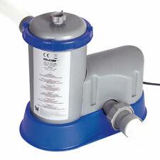 Bestway pompa filtro 5680 lt/h motore filtrante per pulizia acqua piscina 58122