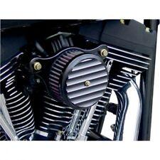 Air cleaner high performance assembly round finned black - Joker machine 02-142B