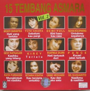 15 TEMBANG ASMARA  - VOLUME 2  -  CD