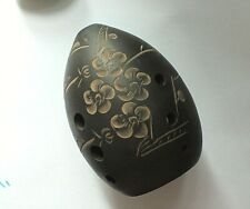 More details for fine quality chinese musical instrument 9 hole ocarina xuan pottery flute w inst
