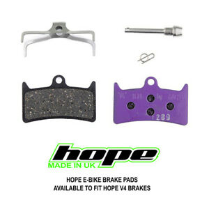 Hope Tech 3 V4 E-Bike Disc Brake Pads - Brand New
