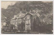 Cumbria postcard - Borrowdale Hotel (A123)