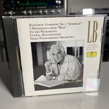 Bernstein: No. 1 Jeremiah 3 Meditations On The Waterfront Israel Philharmonic Dg