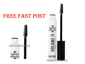 Natural Collection VOLUME Mascara NEW - Black or Brown/Black - FREE FAST POST