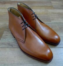 Barker Devonshire Tan Leather Chukka Boot UK7 FX EU41 RRP £290 Good For Church