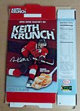 2017 KEITH KRUNCH CEREAL BOX -- TEAM CANADA Hockey Gold Medalist -- DUNCAN KEITH