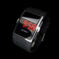 Luxury Men's Digital LED Date Wrist Watch Sport Quartz Silicone Bracelet Watches