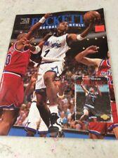 Beckett Basketball Magazine Monthly Price Guide Anfernee Hardaway February 1995