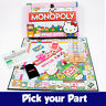 PICK YOUR PARTS - Monopoly Hello Kitty Board Game - SPARES / REPLACEMENTS