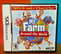 My Farm Around The World  -  Nintendo DS DS Lite 3DS 2DS Game Complete Tested