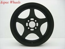 15X6.5 ROTA SLIPSTREAM WHEELS 4X100 RIMS +40MM CHARCOAL BLACK COLOR (SET OF 4 )