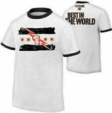 CM Punk Best In the World Mens Man T-shirt T Shirts Top Tee shirt tshirts Tshirt