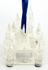 Disney Parks Ice Castle Light-up Led Transparent Glow Christmas Tree Ornament