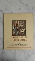 Album D'art - Drogues Et Peintures - N°39 - Clément Serveau