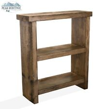 Peak Heritage Furniture - Royal Oak Collection - Chunky Rustic Bookcase