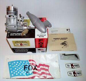 FOX 40 RC STD BB SCH. Lapped Piston Engine with Muffler  N.O.S. 24096