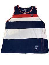 Parish Nation Men's Clothing Striped Sleeveless Shirt