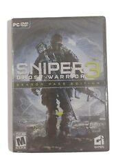 SNIPER GHOST WARRIOR 3 Season Pass Edition PC DVD ROM NEW SEALED