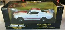 Ertl American Muscle 1:18 1967 Shelby Mustang GT350 White/Red #29259 1 of 2,500