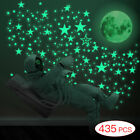 Luminous Wall Stickers Glow In The Dark Stars and Moon Planet Space Bedroom Deco