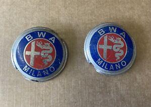 Alfa Romeo  B.W.A Milano badge