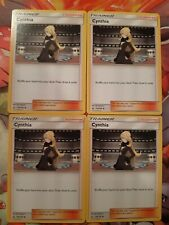 NM 4x Cynthia Trainer. Pokemon Ultra Prism