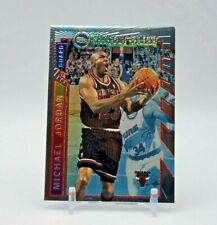 Michael Jordan 1996-97 Topps Finest Mystery Bulls Borderless Insert Card # M14