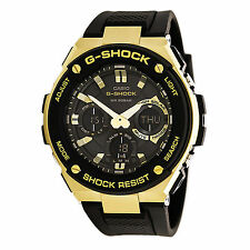 Casio G-SHOCK GSTS100G-1A G-Steel Tough Solar Resin Band Gold 200m Men's Watch
