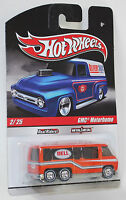 Hot Wheels Delivery Slick Rides Custom GMC Motorhome REAL RIDERS 1:64